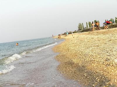 Пляж Азовского моря