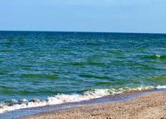 Чёрное море, Крым, Саки, Новофёдоровка.