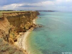 Севастополь. Посёлок Орловка. Берег Чёрного моря.