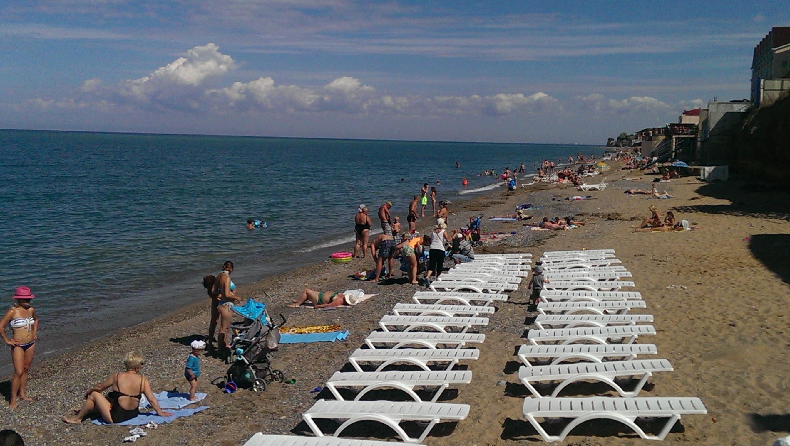 Фото пляжей николаевки крым
