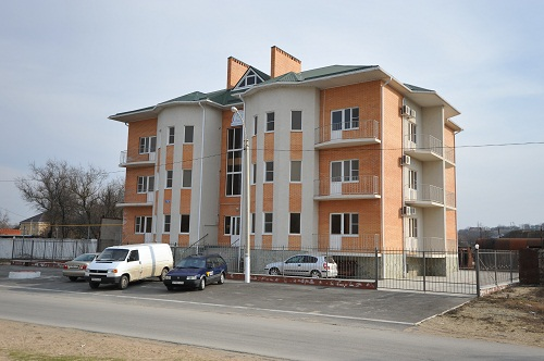 Гостиница Сияние Тамани в Голубицкой