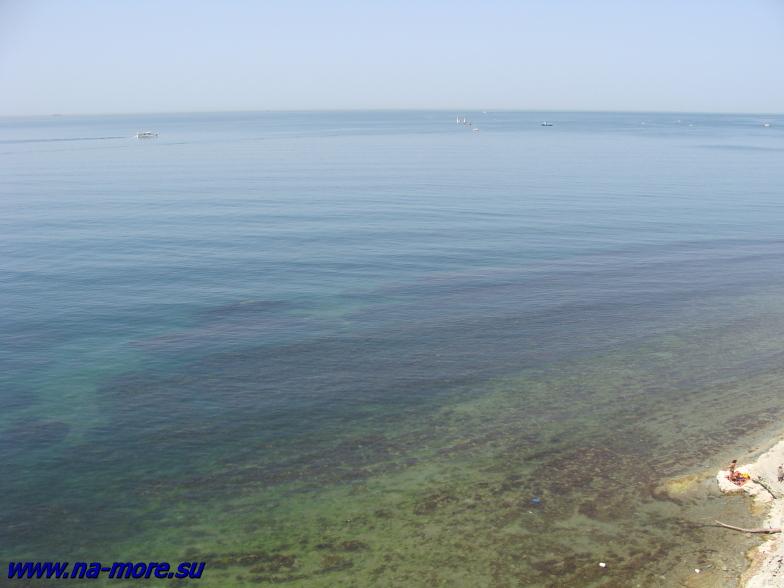 Чёрное море в Геленджике.