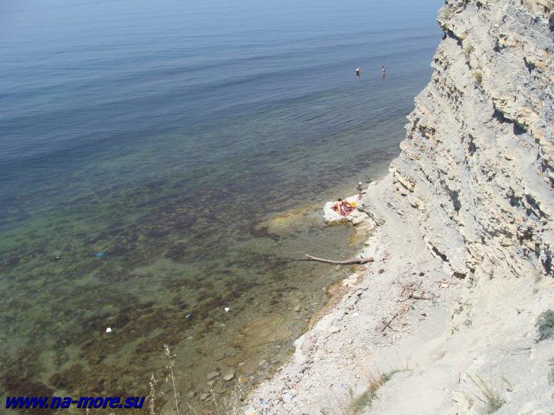 Чёрное море. Геленджикская круча.