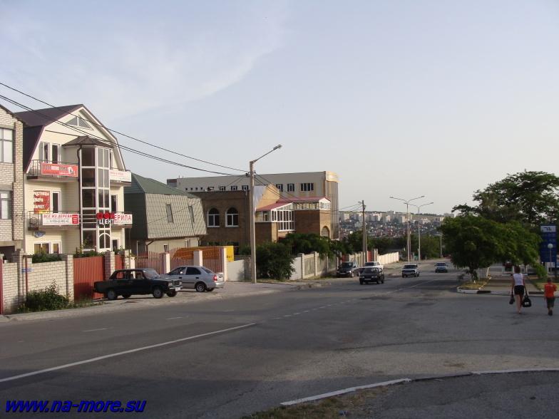 Улица Кирова в Геленджике.