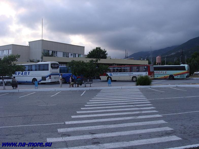 Геленджикский автовокзал.