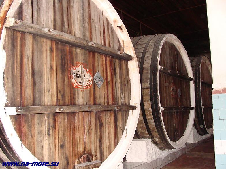 В закромах Геленджикского винзавода.