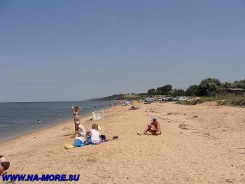 Азовское море, пляж