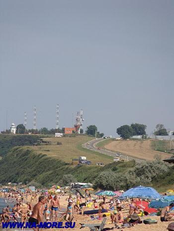 Голубицкая на берегу Азовского моря