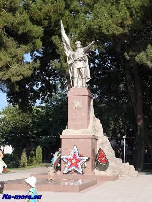 Памятник Героям -победителям в Геленджике.