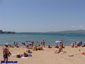 Геленджик. Пляж.