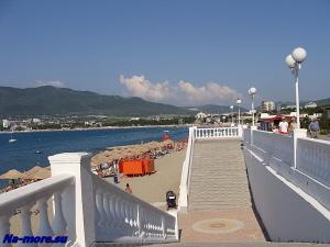 Спуск к пляжу