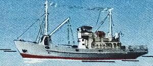 Средний черноморский сейнер