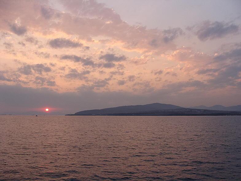 Закат в Чёрном море