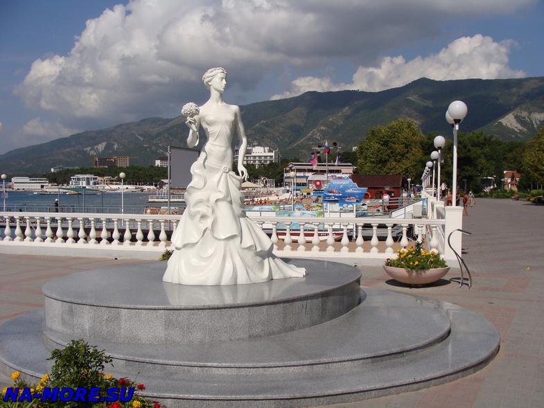 Белая невесточка в Геленджике