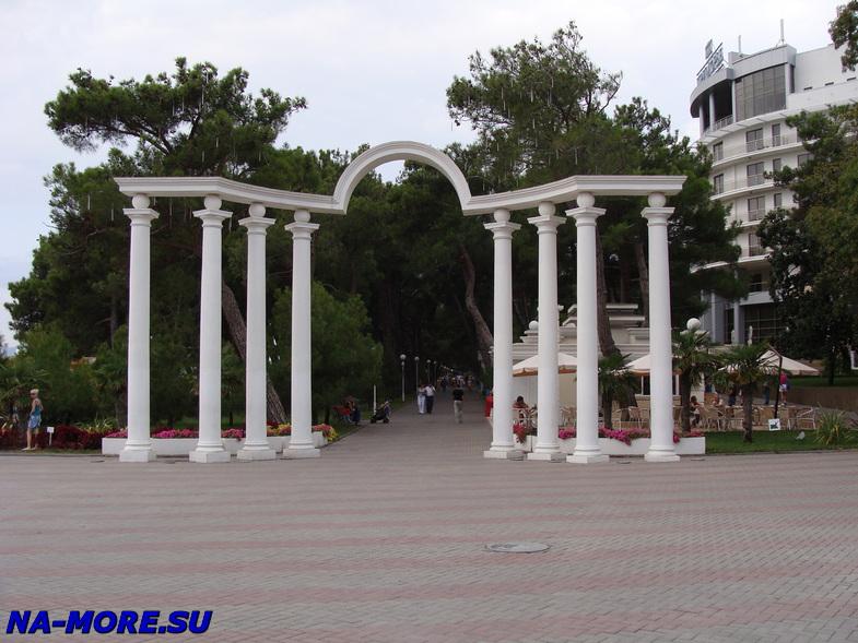 Геленджик , арка