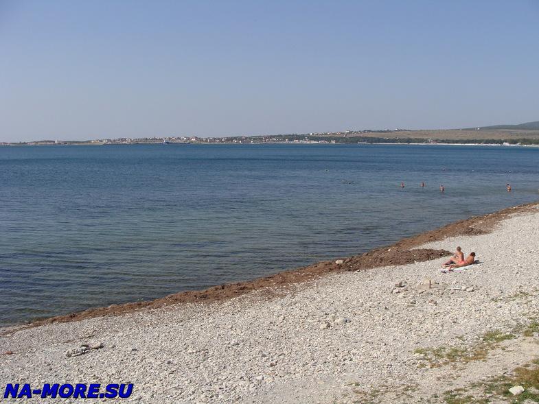 Пляж пансионата Приветливый берег