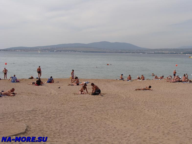Геленджик, городской пляж