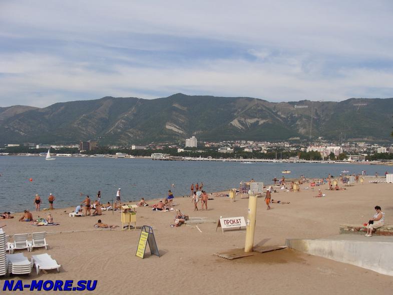 Геленджик, пляж и бухта