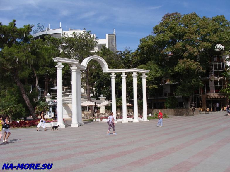 Геленджик, арка