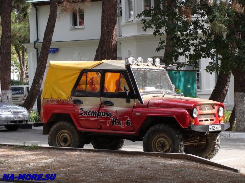 УАЗ в Геленджике