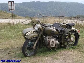 Мотоцикл для фотосессий