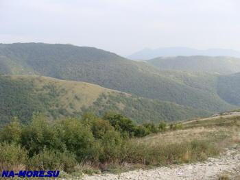 Горный пейзаж Кавказа