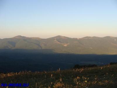 Гряда Главного Кавказского хребта