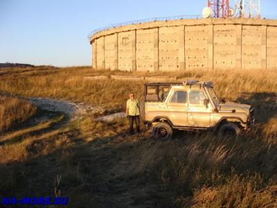 Наш водитель Сергей и его УАЗ