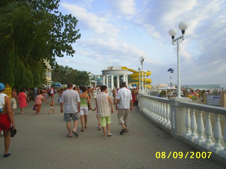 На набережной в Дивноморском