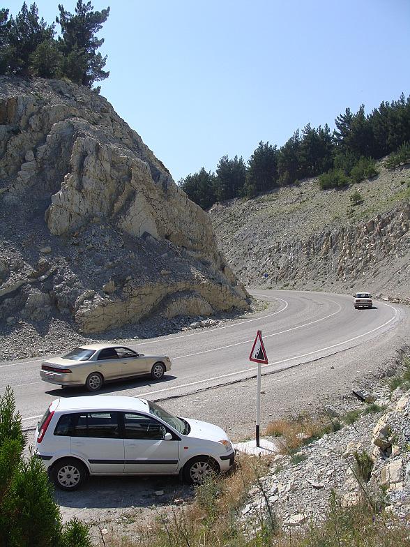Сухумское шоссе в Геленджике