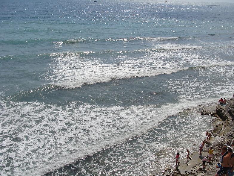 Чёрное море. Геленджик. Круча.