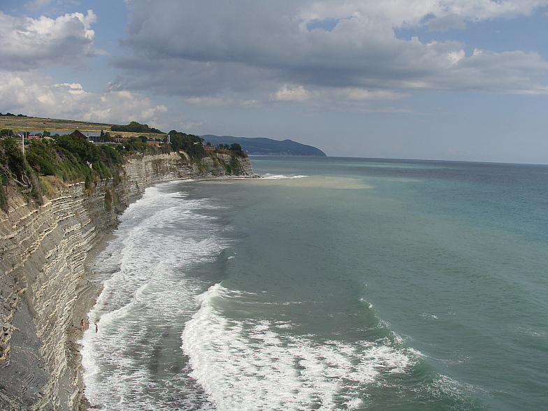 Чёрное море. Геленджик. Круча. Пляж.