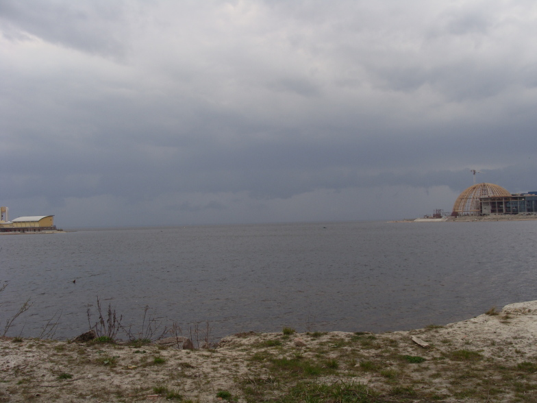 Финский залив. Скоро буря.