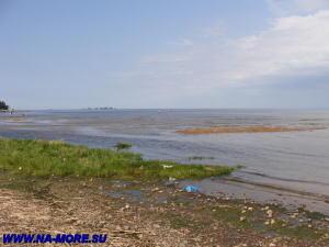 Пляж на Финском заливе в Сестрорецке.