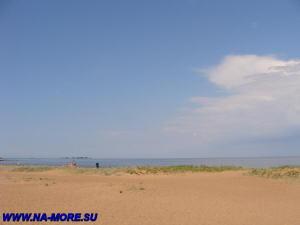 Пляж Дубковский на Финском заливе в Сестрорецке