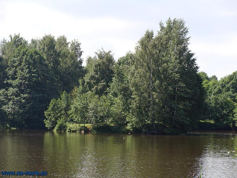 Тут лодочная станция парка Дубки в Сестрорецке
