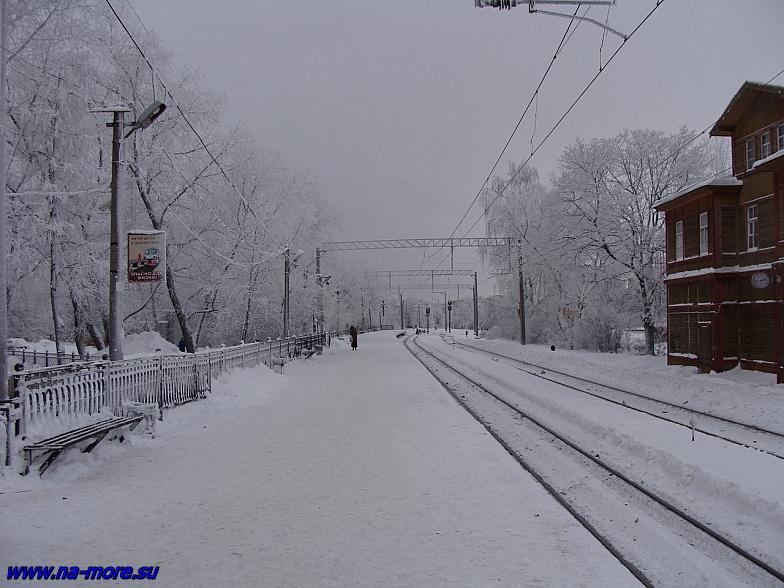 Сестрорецк. Железнодорожная станция.