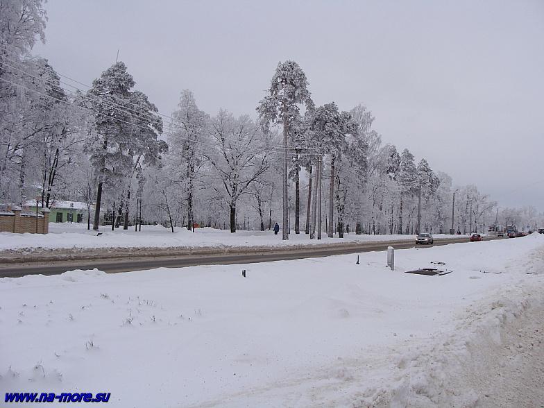 Зимний Сестрорецк.