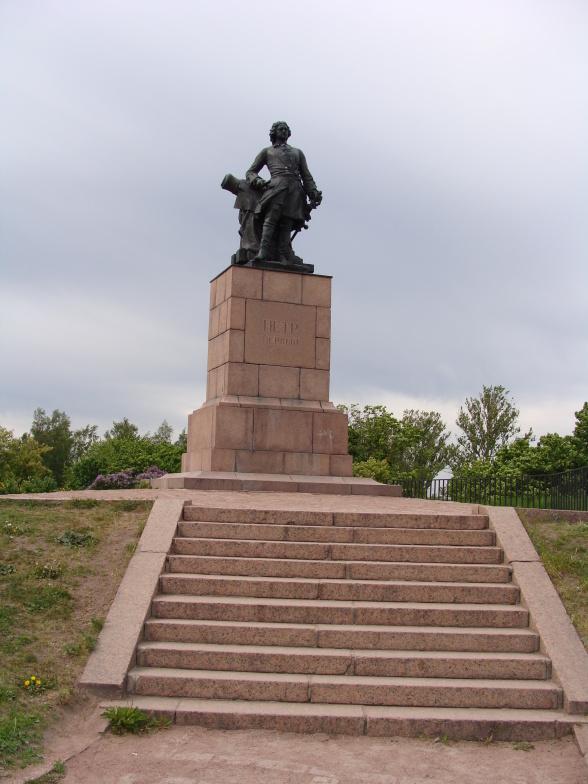 Памятник Петру I в Выборге