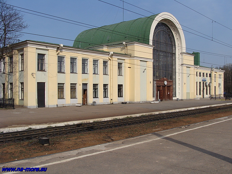Вокзал в Зеленогорске.