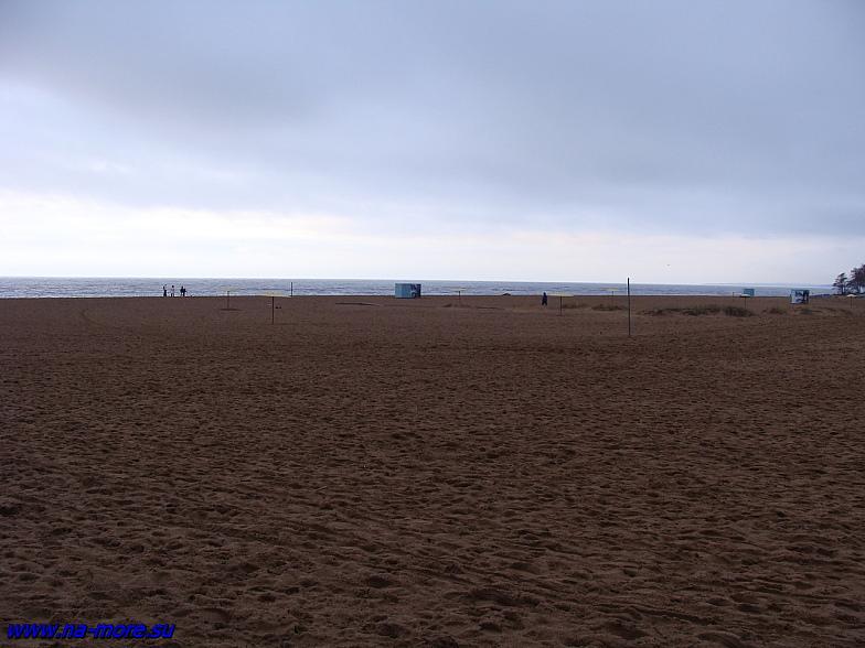 Центральный пляж в Зеленогорске