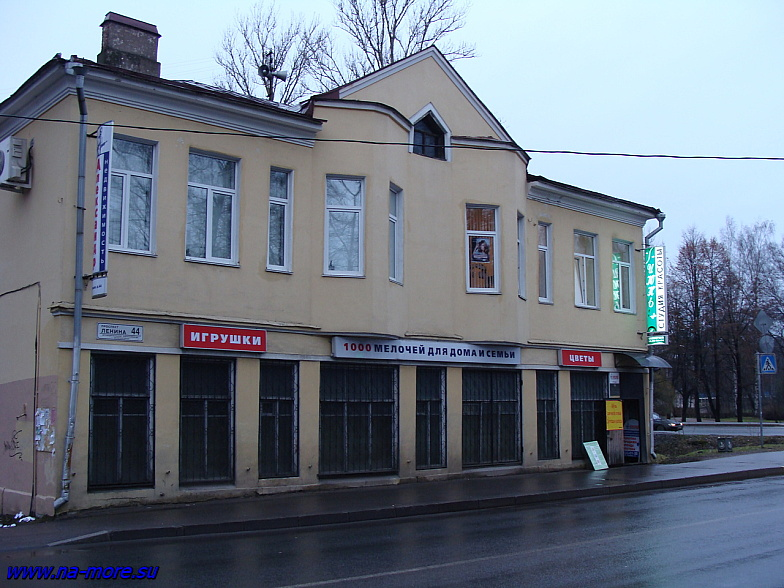 На проспекте Ленина в Зеленогорске