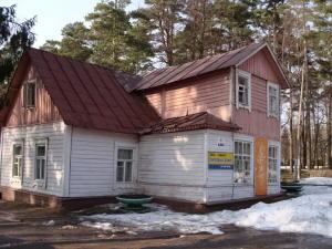 Парковый домик в Зеленогорске до ремонта.