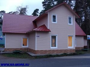 Парковый домик в Зеленогорске после ремонта.