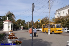 На улицах Севастополя