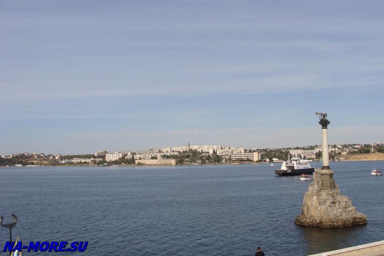 Бухта Севастополя.