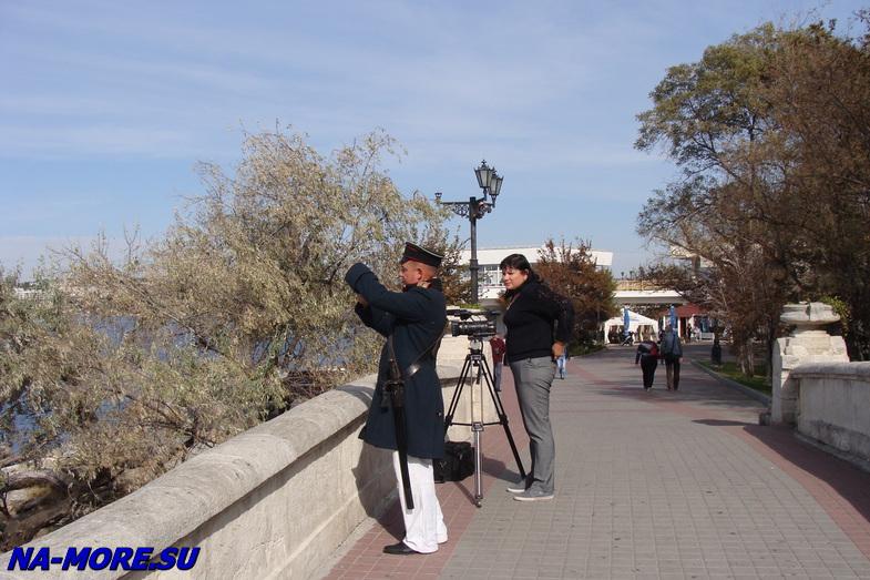 Набережная Севастопольской бухты