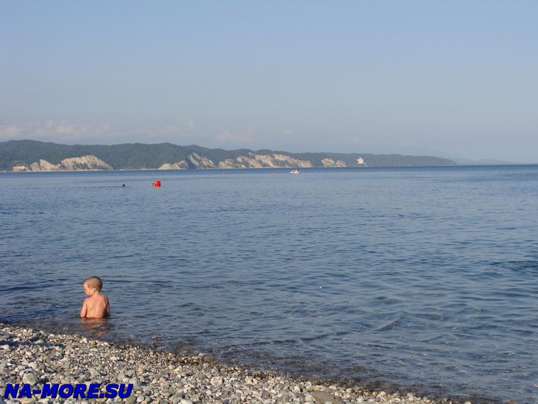 Чёрное море в Пицунде