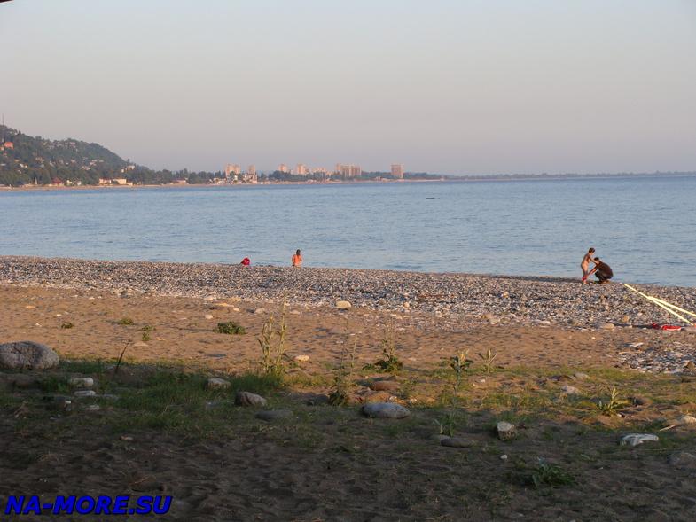 Чёрное море в Гаграх