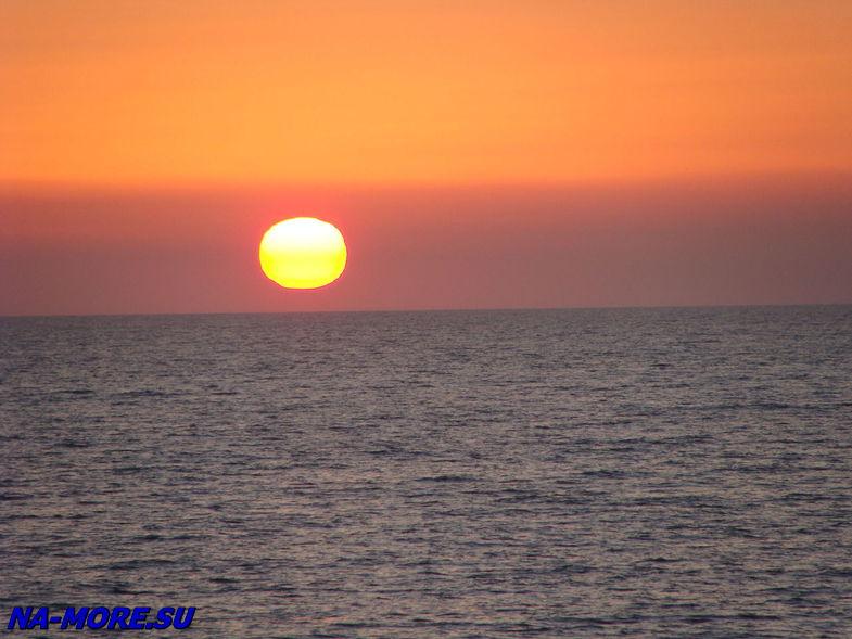 Закат на Чёрном море